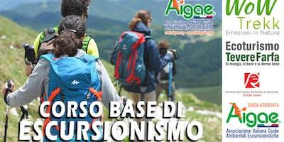 Corso Base di Escursionismo didattica AIGAE