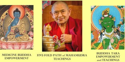 H.E.Garchen Rinpoche Vancouver Empowerments and Teachings