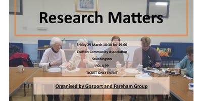 Research Matters - talk from the MS Society research team