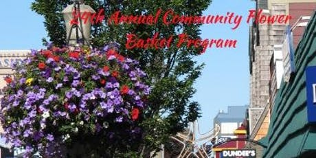 24th Annual Community Flower Basket Program tickets