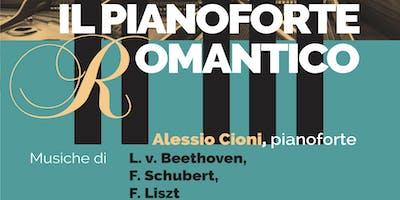 STAGIONE CONCERTISTICA 2019 - IL PIANOFORTE ROMANTICO - Recital di ALESSIO CIONI