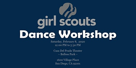 Collage 2020 ~ Girl Scouts Dance Workshop tickets