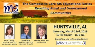 MULTIPLE SCLEROSIS Event in Huntsville, AL: The Compass to Care