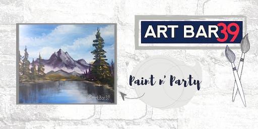 Paint & Sip | ART BAR 39 | Public Event | Happy Trees