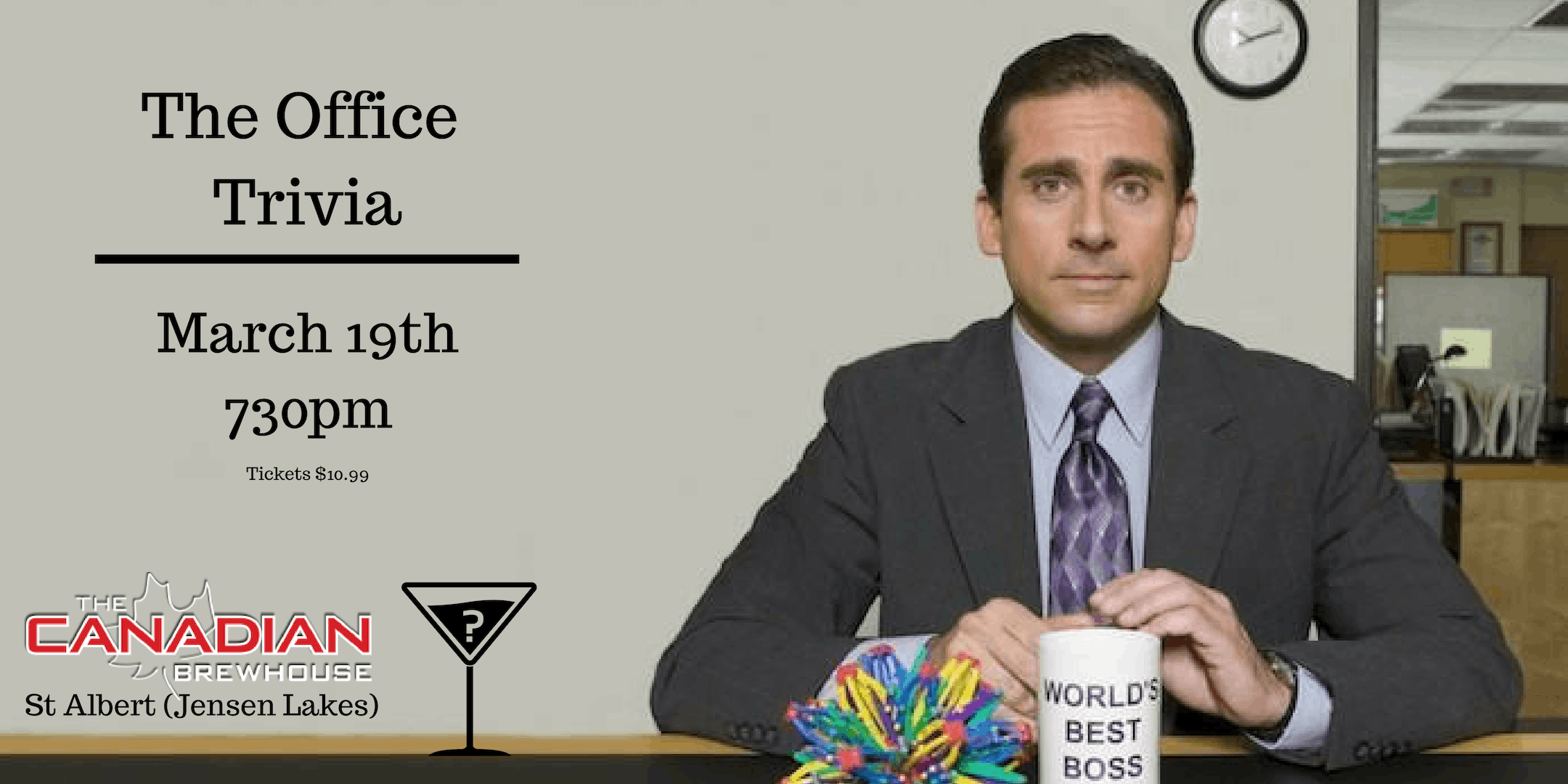 The Office Trivia - March 19th 730pm Canadian