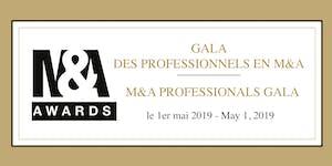 Gala des Professionnels en M&A / M&A Professionals Gala