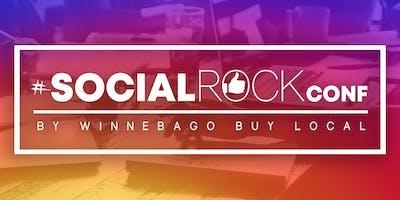 #SocialROCKconf 2019 by Winnebago Buy Local
