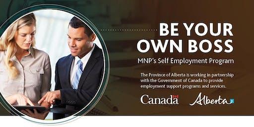Self Employment / Entrepreneur Training - Be Your Own Boss!