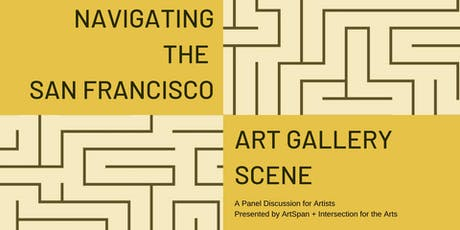 Navigating the SF Art Gallery Scene tickets