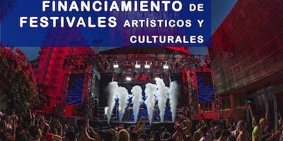 FINANCIAMIENTO de festivales artísticos y culturales