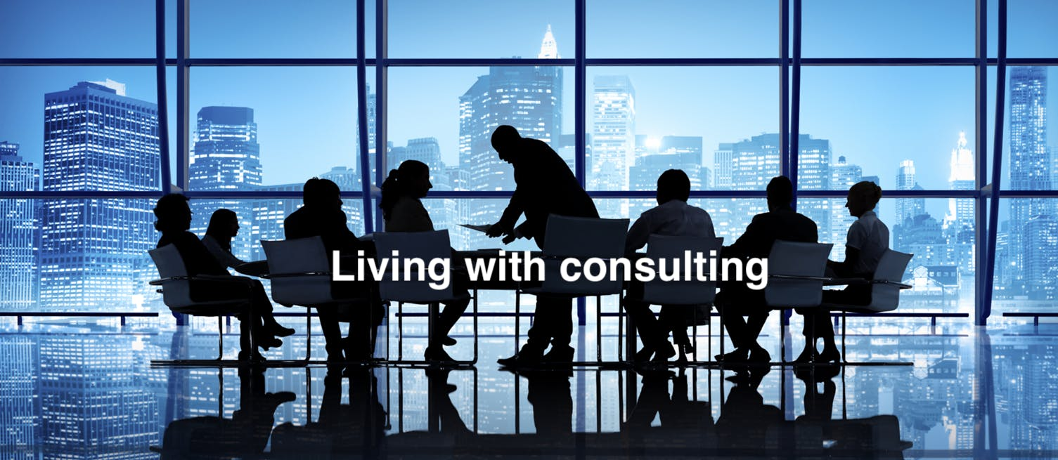 """MBA/PMBA (Non-Members) - """"Living with consult"""