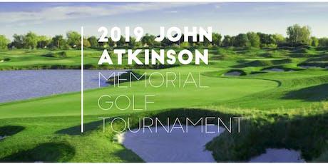 2019 John Atkinson Memorial Golf Tournament tickets
