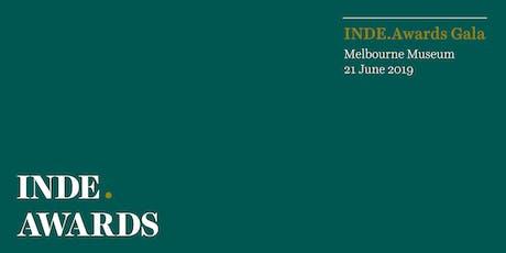 INDE.Awards Gala 2019 tickets