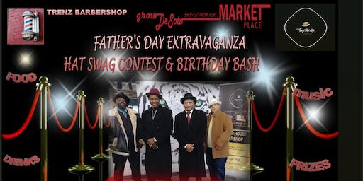 Copy of Father's Day Weekend Extravaganza Hat Swag Contest & Barber Birthday Bash