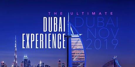 ULTIMATE DUBAI EXPERIENCE 2K19 NOV 6TH-13TH HOTEL MOVENPICK HOTEL JUMEIRAH BEACH tickets
