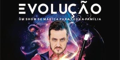 """Desconto! Show de Ilusionismo """"Evolução"""", com Wagner Alves, no Teatro Santo Agostinho"""