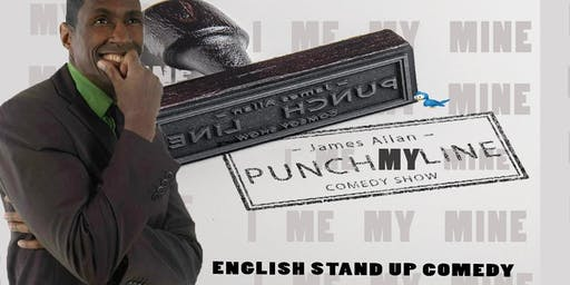 Punch My Line Live English Comedy Evening show