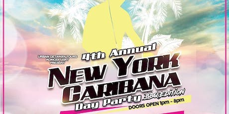 NEW YORK DAY PARTY  CARIBANA WEEKEND @ORCHID PATIO tickets
