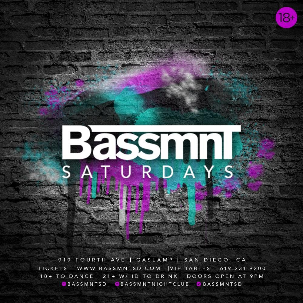 Bassmnt Saturday 6/22