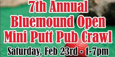 7th Annual Bluemound Open Mini Golf Pub Crawl
