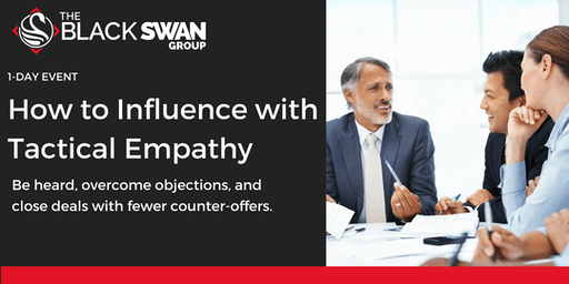 How to Influence with Tactical Empathy - Jersey City!