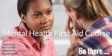 Mental Health First Aid Course by Fiona Price tickets