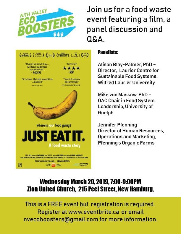 Just Eat It: Film Screening and Panel Discussion