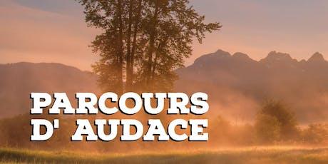 PARCOURS D' AUDACE  billets