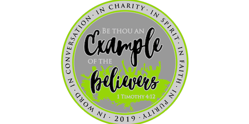 2019 Be An Example 1 Mile, 5K, 10K, 13.1, 26.2 - Pierre