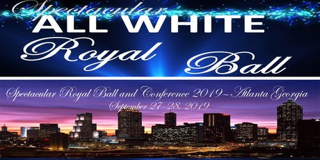 Spectacular All White Royal Ball tickets