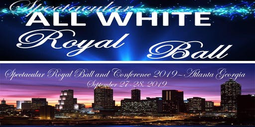 Spectacular All White Royal Ball