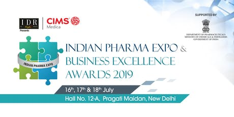 Indian Pharma Expo & Business Excellence Awards 2019 biglietti