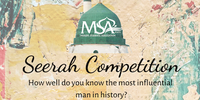 MSA Seerah Quiz Competition!