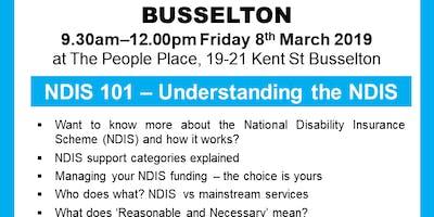 NDIS 101: Understanding the NDIS - BUSSELTON
