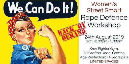 Women's Street Smart Rape Defence Workshop - Auckland