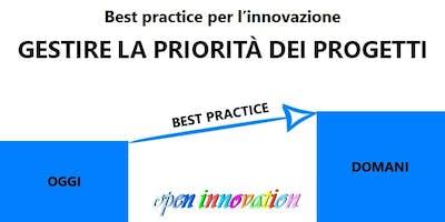 Le best practice dell'innovazione: gestire strategicamente le priorità dei progetti