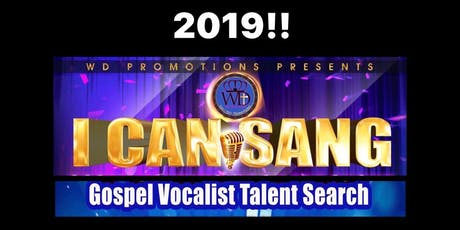I CAN SANG Gospel Vocalist Talent Search 2019 tickets