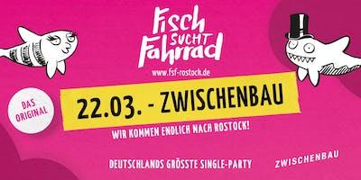 Fisch sucht Fahrrad-Party - Die Premiere in Rostock - März 2019