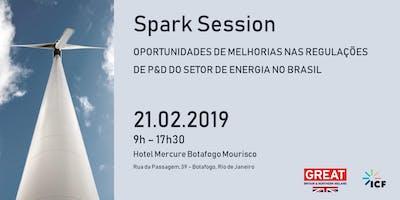 Spark Session - Regulacoes de P&D do setor de energia no Brasil