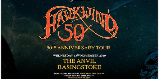 Hawkwind - 50th Anniversary (The Anvil, Basingstoke)