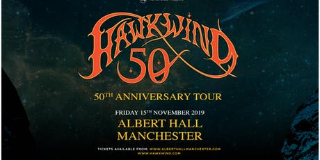 Hawkwind - 50th Anniversary (Albert Hall, Manchester) tickets