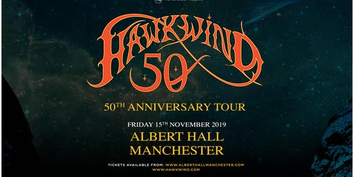 Hawkwind - 50th Anniversary (Albert Hall, Manchester)