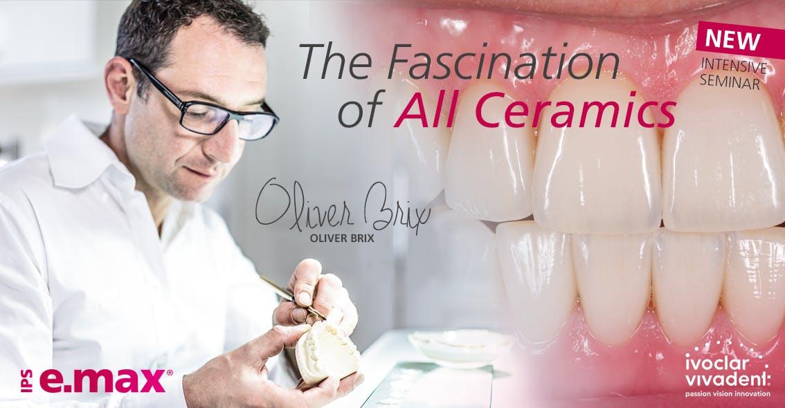 Oliver Brix The Fascination of all ceramics - October 2019