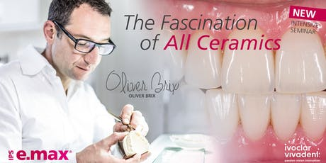 Oliver Brix The Fascination of all ceramics - October 2019 tickets
