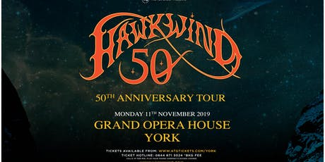 Hawkwind - 50th Anniversary (Grand Opera House, York) tickets