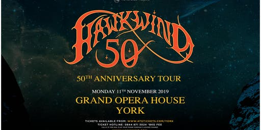 Hawkwind - 50th Anniversary (Grand Opera House, York)