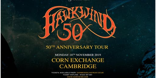 Hawkwind - 50th Anniversary (Corn Exchange, Cambridge)