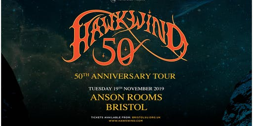 Hawkwind - 50th Anniversary (Anson Rooms, Bristol)