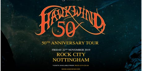 Hawkwind - 50th Anniversary (Rock City, Nottingham) tickets