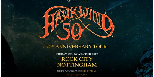 Hawkwind - 50th Anniversary (Rock City, Nottingham)